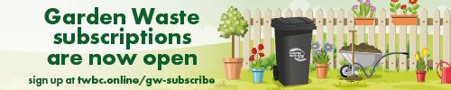 Garden waste reopening